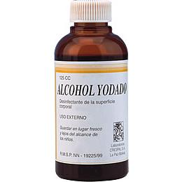 Alcohol Yodado