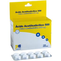 Acido Acetilsalicílico 500