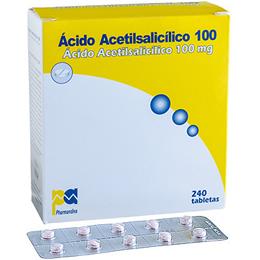 Acido Acetilsalicílico 100