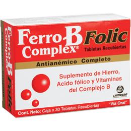 Ferro B Complex Folic